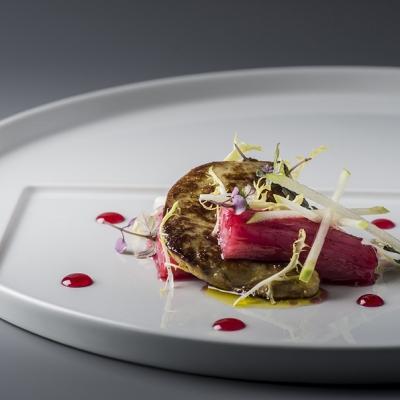 Zprudka opečená kachní foie gras