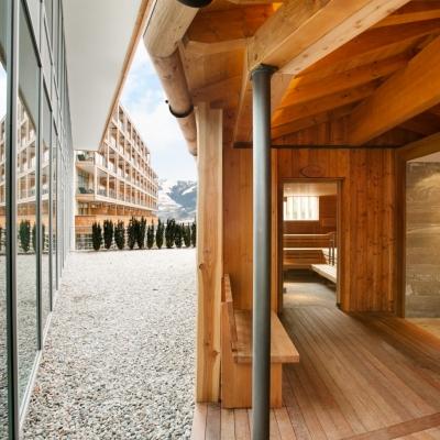 A po lyžování se zahřejete v sauně