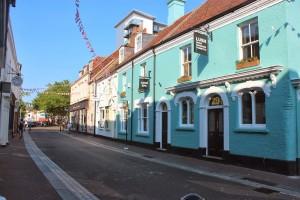 Poole a prvni LUSH obchod