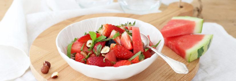Melounové menu pro horké dny