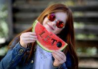 Zahradní slavnost s melounovými specialitami