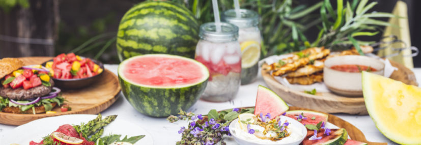 Vaše melounové grilovací menu