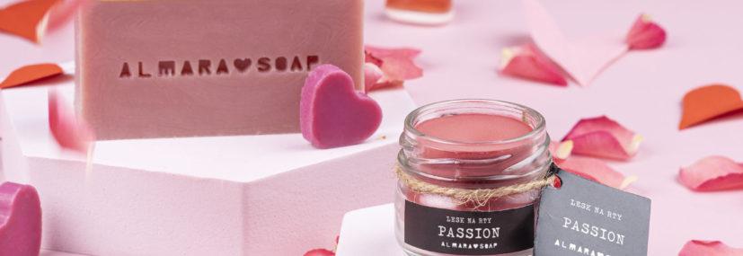 Zero-waste valentýnský balíček LOVE & PASSION