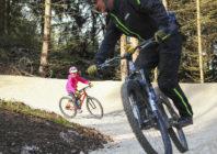 Na kole Dolní Moravou